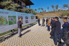 腾冲市政协委员视察重点项目建设